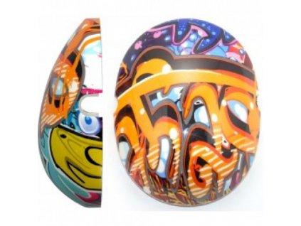 Krytky na dětské chrániče sluchu - Graffiti  Edz Capz Graffiti