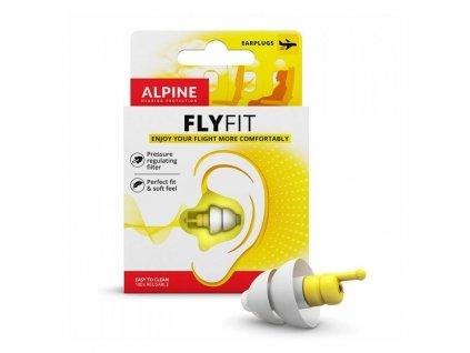 Alpine FlyFit špunty do uší do letadla  Alpine FlyFit