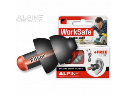 Alpine WorkSafe špunty do uší proti hluku  Alpine WorkSafe