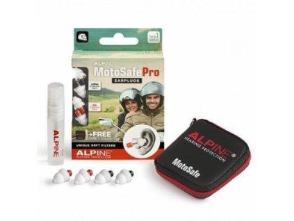 Alpine MotoSafe Pro špunty do uší na motorku  Alpine MotoSafe Pro