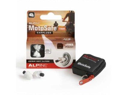 Alpine MotoSafe Tour špunty do uší na motorku  Alpine MotoSafe Tour