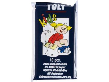 jednorazove sedatka na wc pro deti toly