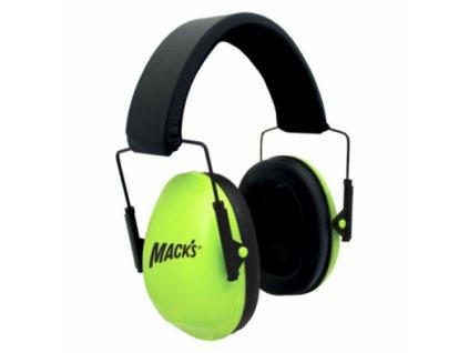 Mack's chrániče sluchu zelené  Mack's sluchátka zelené
