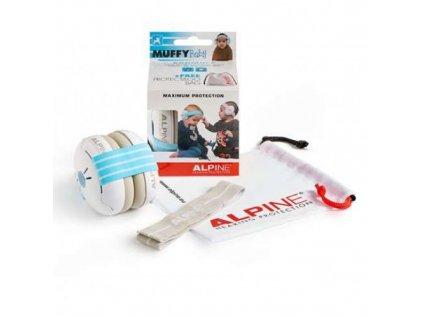 Alpine Muffy Baby chrániče sluchu pro batolata modré  Rozbalené zboží