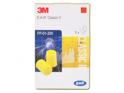 3m ear classic II spunty do usi 5 paru