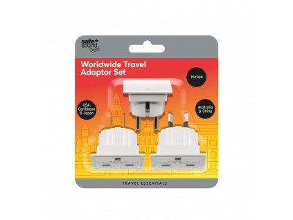 safe sound cestovni adaptery