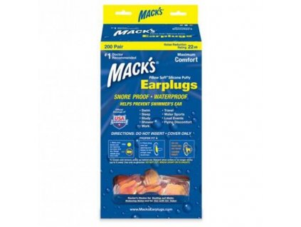mack-s-pillow-soft-silikonove-spunty-do-usi-oranzove-200-paru