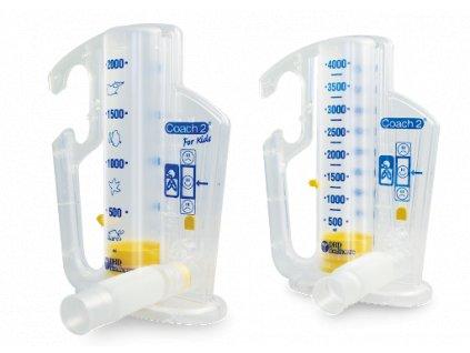 nadechový spirometr coach 2