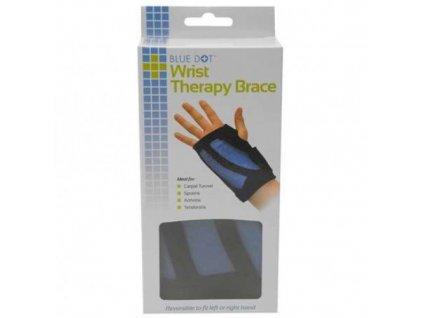 BlueDot - Hřejivá - chladivá ortéza na zápěstí.  Blue Dot wrist