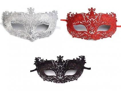 skraboska karnevalova maska