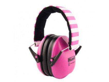 Alpine Muffy dětské chrániče sluchu růžové  Alpine Muffy růžové