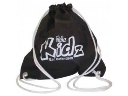 Batůžek ke sluchátkům Edz Kidz černý  Batůžek EdzKidz černý