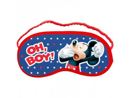 detska maska na spani Mickey Mouse