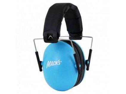 Mack's chrániče sluchu  dětské modré  Mack's sluchátka dětské modré