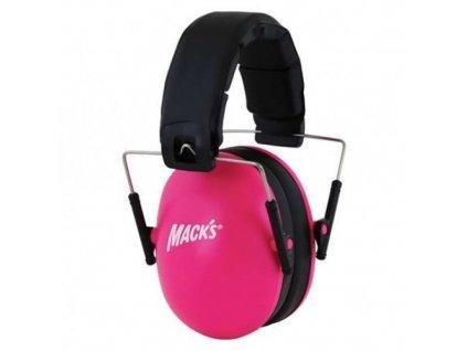 Mack's chrániče sluchu  dětské růžové  Mack's sluchátka dětské růžové