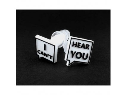 "Laplugs ""I can't hear you"" špunty do uší  I can't hear you špunty"