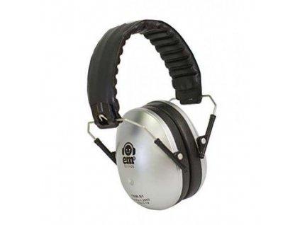 Dětské chrániče sluchu Ems 4 Kids - stříbrné  Sluchátka Ems4Kids stříbrné