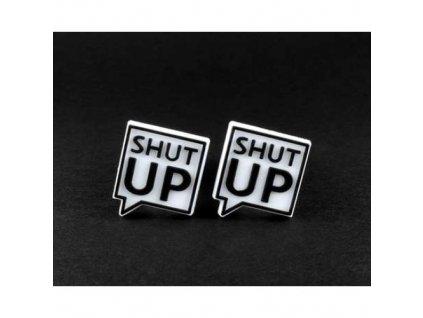 "Náhradní loga ke špuntům do uší "" Shut Up ""  Laplugs loga Shut Up"
