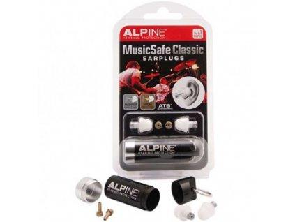 Alpine MusicSafe Classic špunty do uši pro muzikanty  Alpine MusicSafe Classic
