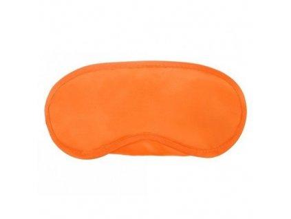Maska na spaní Classic oranžová  Maska Classic oranžová