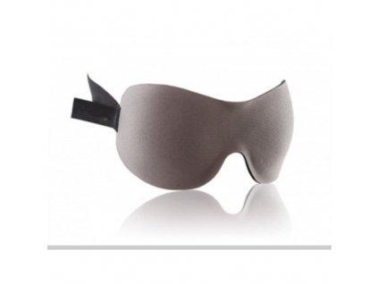 3D Premium Maska na spaní  - šedá  Maska 3D premium šedá