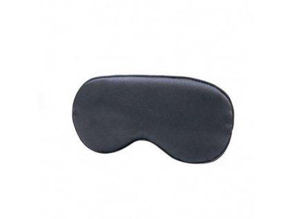 Maska na spaní  hedvábná - Černá  Maska Silk černá