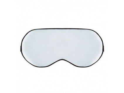 Maska na spaní hedvábná - Bílá  Maska Silk bílá
