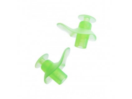 Zoggs dětské špunty do uší na plavání  Zoggs Aqua zelená
