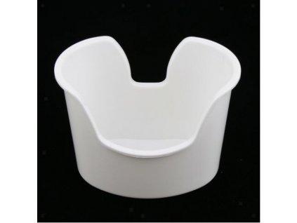 Vanička k čištění uší  Tubba vanička bílá