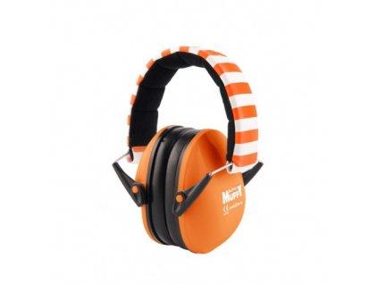 Alpine Muffy dětské chrániče sluchu oranžové  Alpine Muffy oranžové