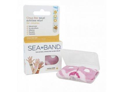 Sea-Band náramky proti nevolnosti pro děti - růžové  Sea-Band růžové dětské