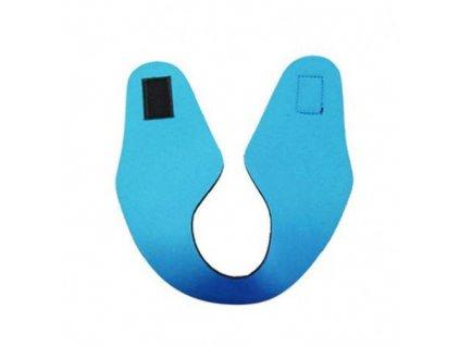 Neoprénová čelenka na plavání - Světle modrá  Čelenka Tubba světle modrá