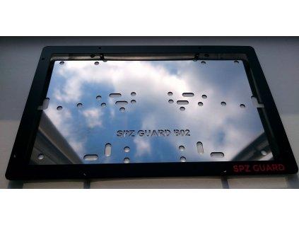 SPZ GUARD B04 nerezový rámeček na značku 320 x 160 mm