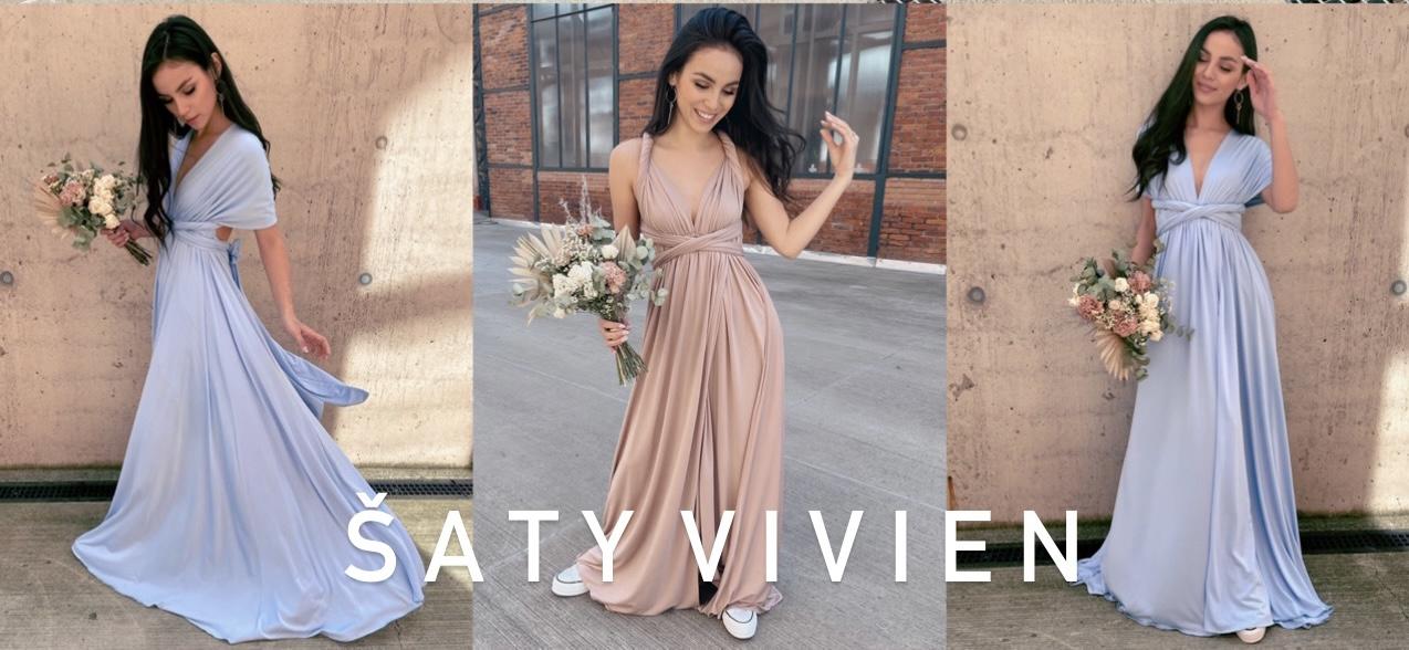 Vázací šaty Vivien