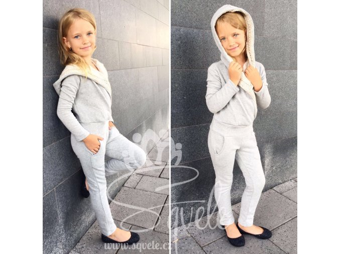 Dětský Overal zilli/w met