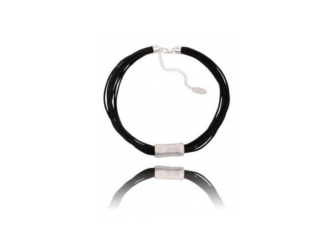 Černý náhrdelník NG0276