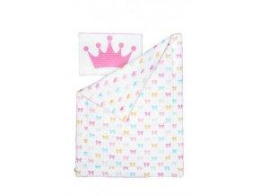 souprava přikrývka + polštář kolekce princess