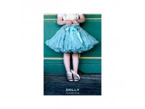 Dolly sukně tyrkysová princezna PETITE