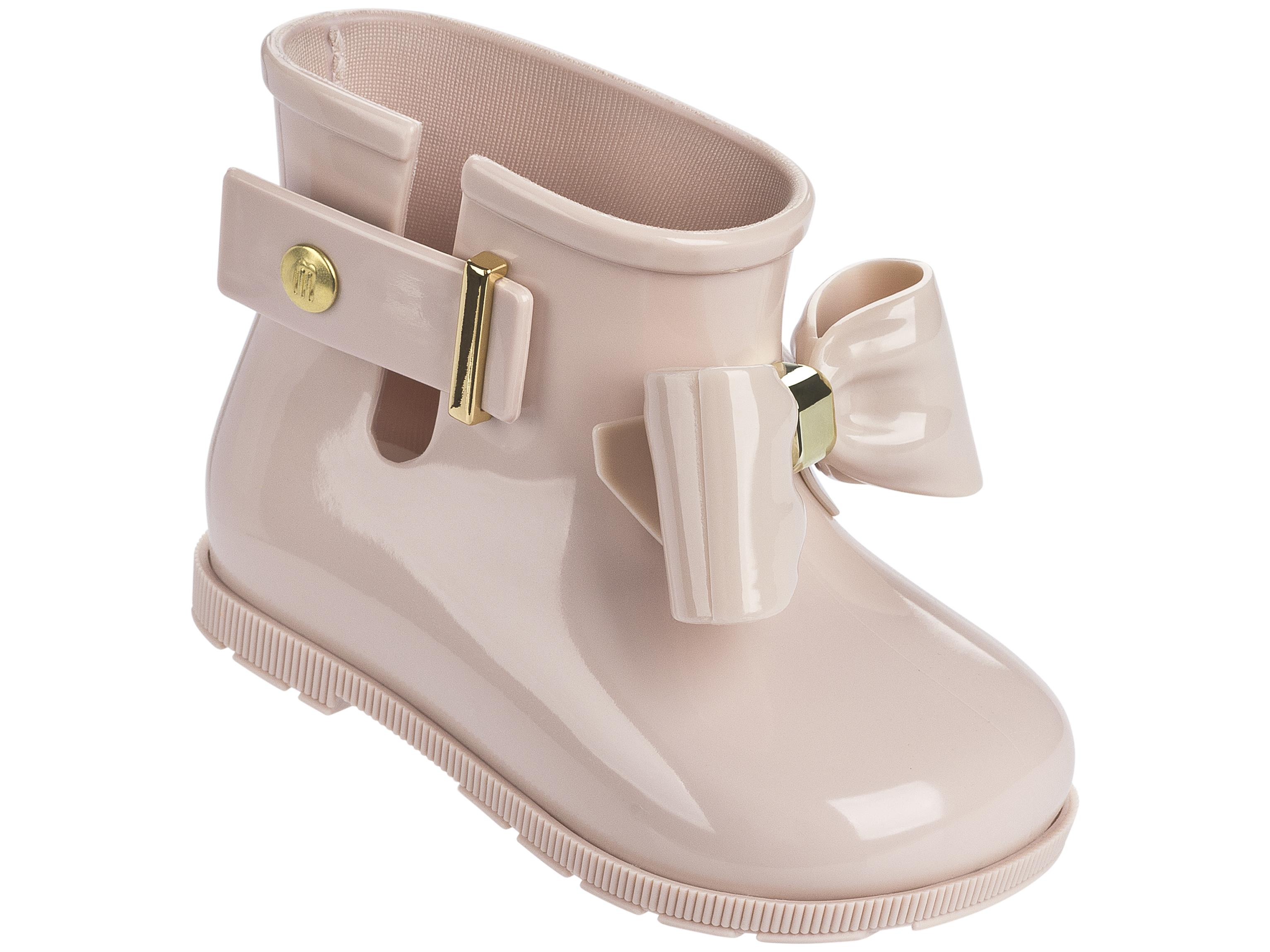 Růžové dětské kotníkové boty Melissa Sugar Rain Bow Light Pink Velikost: 27