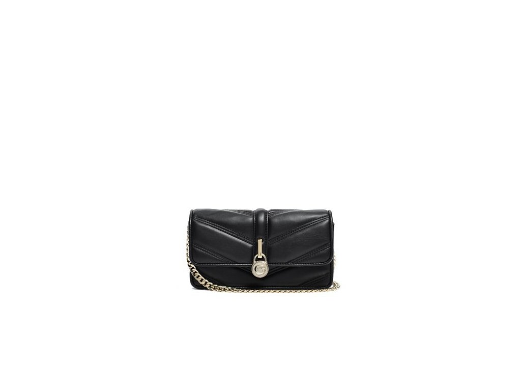 GUESS Kabelka CHEVRON QUILTED CROSS-BODY c8d9af747a7