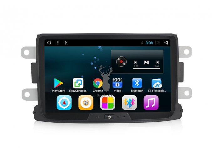 2DIN autorádio Dacia Duster, Sandero, Logan Android 7.1