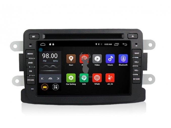 2DIN autorádio Dacia Android 10