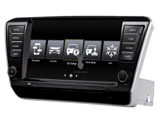 skoda superb III autoradio