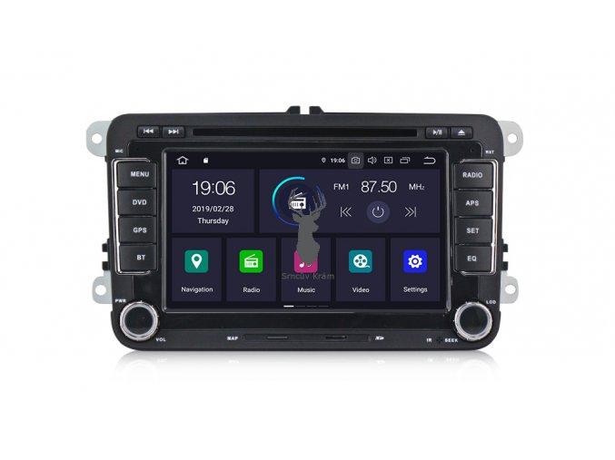VW autorádio srn-PX30-1 Android 9.0