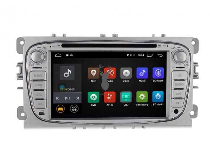 "7"" oem 2DIN Ford Focus autorádio Android 10"