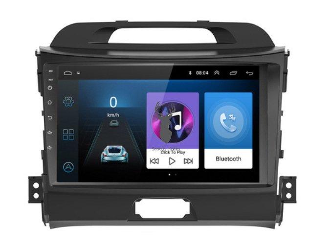 navigace Android 8.1 2 din car multimedia player car dvd for KIA sportage 2011 2