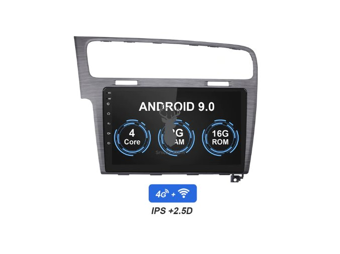 VW Golf VII 7. generace android 9 autorádio s navigací bluetooth handsfree, 4G wi fi Car Radio Multimedia Player For VW Volkswagen Golf 7 2Din Android 9.0 Au