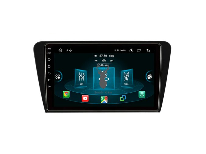 oem autorádio bluetooth handsfree EBILAEN Car DVD Multimedia Player For Skoda Octavia A7 III 3 2014 2018 2din android srncuv kram navigace