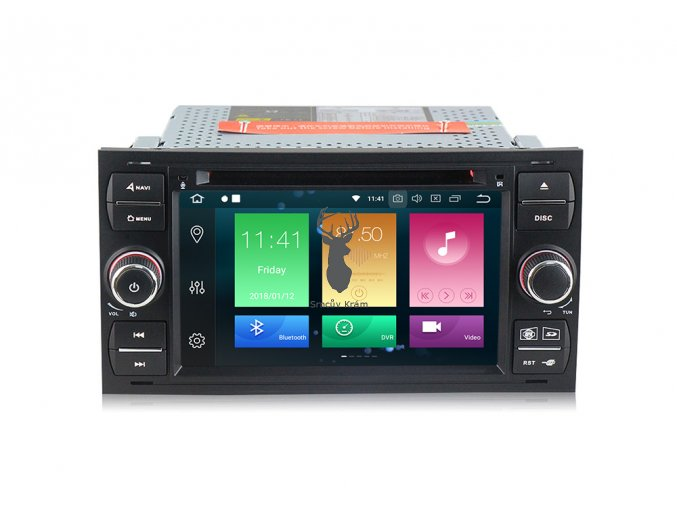 2DIN oem autorádio Ford Focus 05-07 Android 10