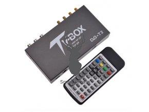 DVB T2 tuner 4 anteny
